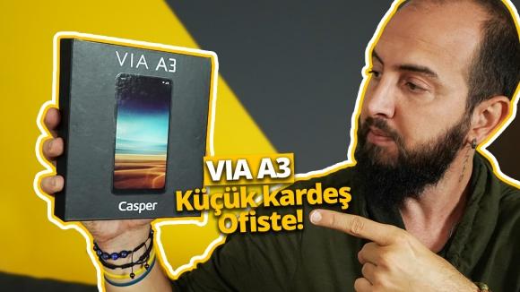 Casper VIA A3 kutu açılışı