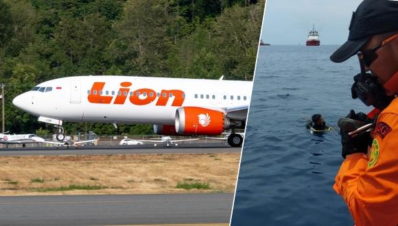 Tarihte bir ilk: Boeing 737 MAX 8 düştü!