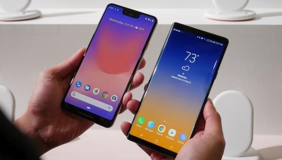 Google Pixel 3 XL ve Galaxy Note 9 karşılaştırması!