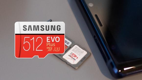 Samsung 512 GB'lık microSD kartını tanıttı!
