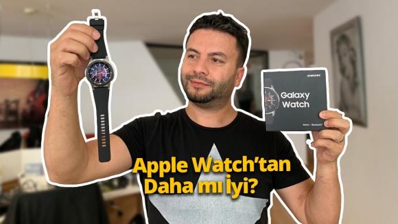 Samsung Galaxy Watch kutusundan çıkıyor!