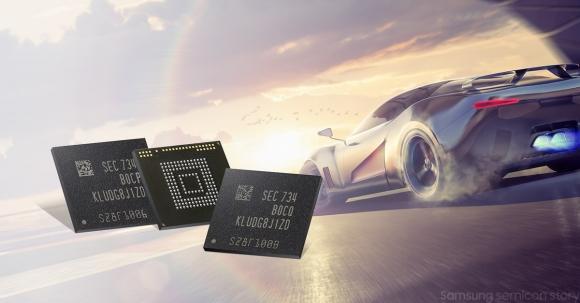 Samsung'dan süper hızlı RAM ve depolama!