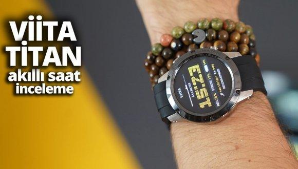 Kickstarter'a damga vuran yerli akıllı saat Viita Titan!