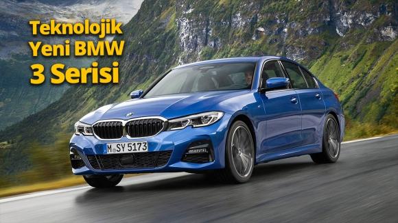 Öne çıkan teknolojileriyle yeni BMW 3 Serisi! (Video)