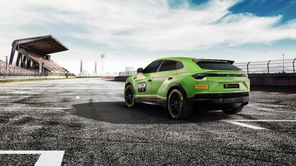 Lamborghini'den yarışlara damga vuracak SUV!