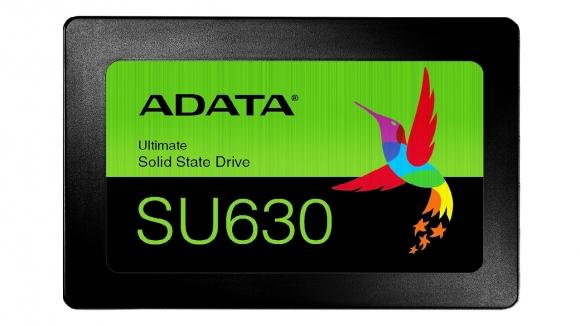 ADATA Ultimate SU630 3D QLC NAND SSD'sini tanıttı!