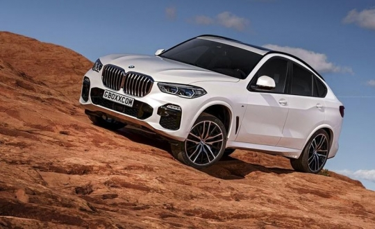 2020 Bmw X6 M Is Displayed All About Pakistan