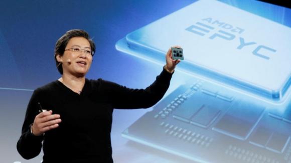 AMD 7nm 64 çekirdekli işlemcisini tanıttı!