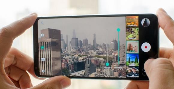 LG ekrana gömülü kamera için patent aldı!