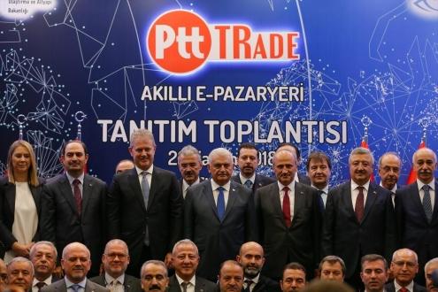 Uluslarararası e-ticaret sitesi PTT Trade açıldı!
