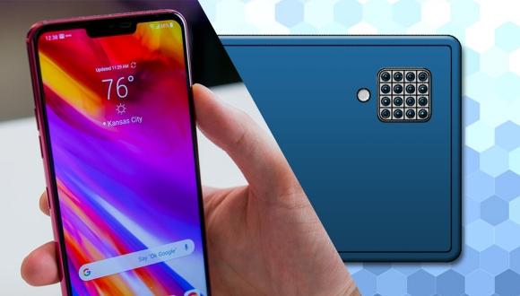 LG'den 16 kameralı akıllı telefon geliyor!