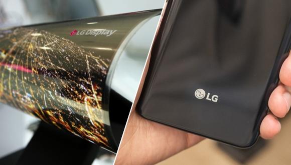LG'den dikkat çekici katlanabilir telefon tasarımı!
