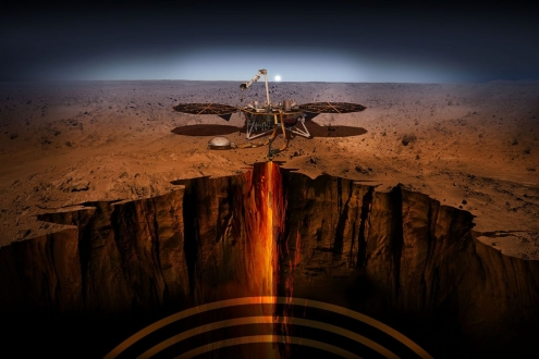 InSight uzay aracının inişi canlı olarak yayınlanacak!