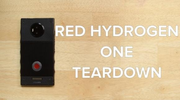 RED Hydrogen One parçalarına ayrıldı!