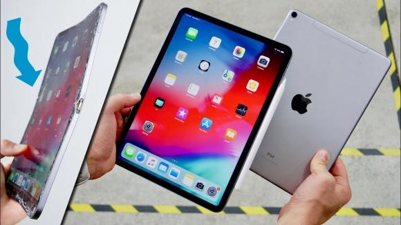 Yeni iPad Pro dayanıklılık testinde!