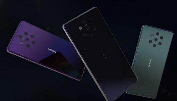 5 kameralı Nokia 9 canlı olarak görüntülendi!