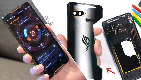Asus ROG Phone parçalarına ayrıldı!