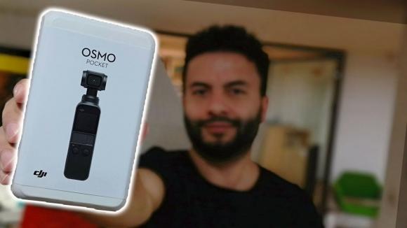 DJI Osmo Pocket kutusundan çıkıyor!