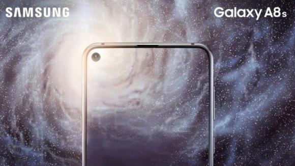 Galaxy A8s özellikleri ve tasarımı doğrulandı!