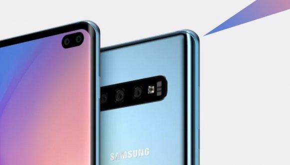 Galaxy S10 Plus çarpıcı tasarımı ile ortaya çıktı!