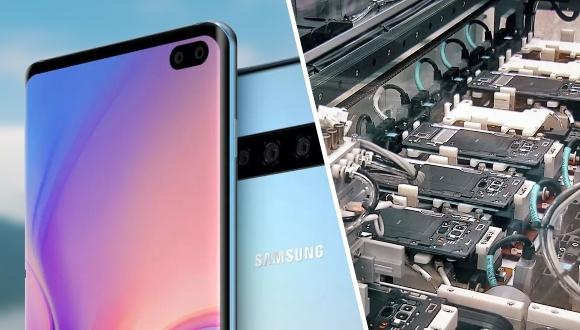 Samsung, Galaxy S10 üretimine başladı!