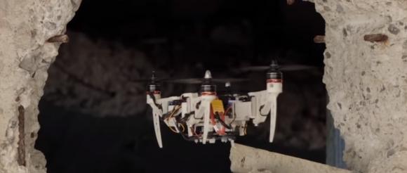 Şekil değiştiren drone, hayat kurtaracak!
