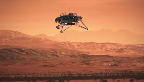 InSight MARS ile ilgili görsel sonucu