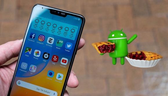 LG G7 ThinQ, Android Pie ile böyle görünüyor!
