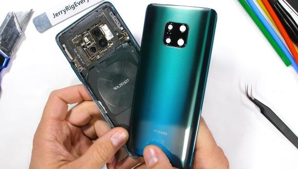 Huawei Mate 20 Proparçalarına ayrıldı!