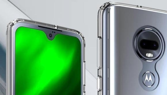 Moto G7'nin tasarımı ortaya çıktı!