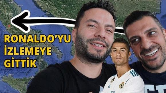 Ronaldo'yu görmeye İtalya'ya gittik! (vLog)