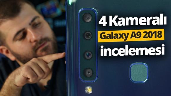 4 Kameralı Samsung Galaxy A9 (2018) inceleme