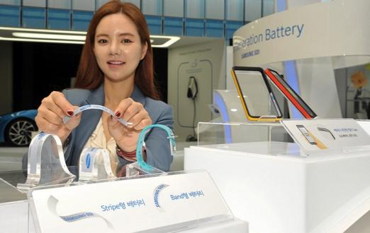 Samsung'dan katlanabilir telefona, esnek batarya patenti!