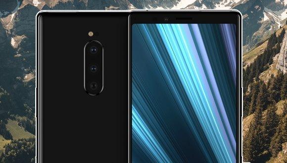 Üç arka kameralı Xperia XZ4'ün tasarımı sızdırıldı!