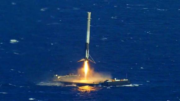 SpaceX Falcon 9 ile bu defa başarısız oldu!