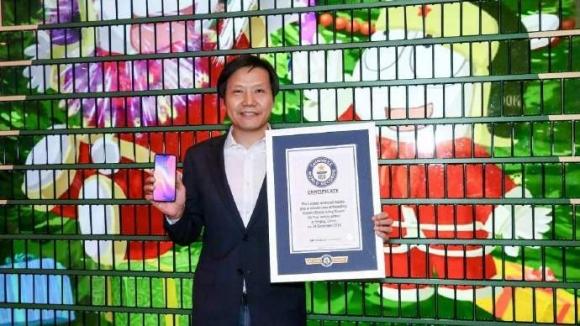 Xiaomi Mi Play çam ağacı Guinness rekoru kırdı!