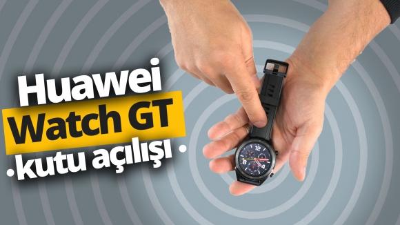 Huawei Watch GT kutusundan çıkıyor!