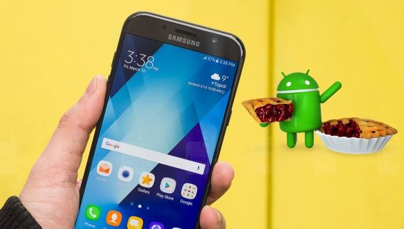 Galaxy A7 2017 kullanıcılarına Android Pie müjdesi!