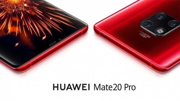 Kırmızı Huawei Mate 20 Pro geliyor!