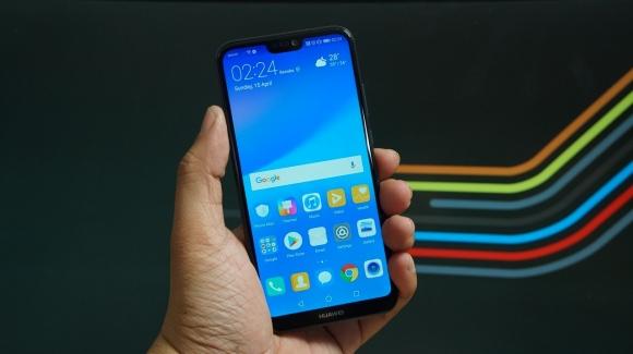 Android Pie yüklü Huawei P20 Lite ortaya çıktı!