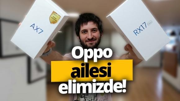 Oppo RX17 Neo ve Oppo AX7 kutu açılışı!