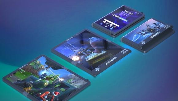Samsung'dan katlanabilir oyuncu telefonu geliyor!