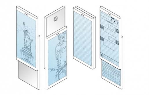 Samsung oldukça ilginç telefon patenti aldı!