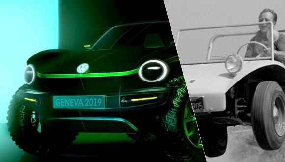 Volkswagen efsanesi: elektrikli Dune Buggy geliyor!