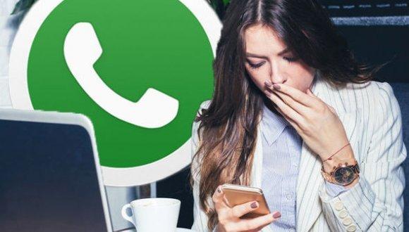 WhatsApp mesajlarına kısıtlama geldi!