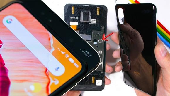 Kızaklı Xiaomi Mi Mix 3 parçalarına ayrıldı!