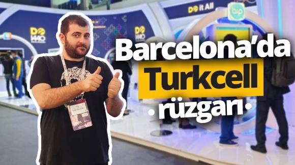 Turkcell'in Barcelona'daki ödüllü standını gezdik! vLog