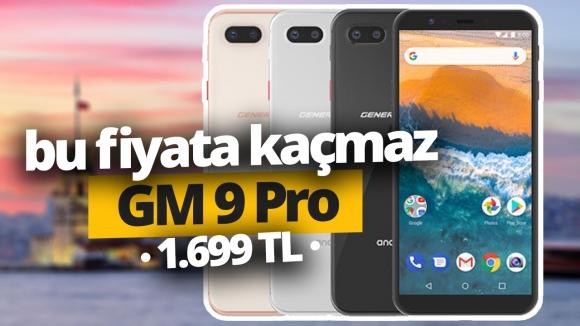 1.699 TL Fiyatıyla GM 9 Pro neler sunuyor?