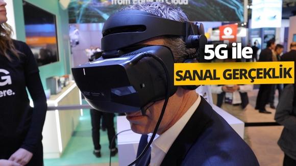 5G ve sanal gerçeklik bir arada! (Video)