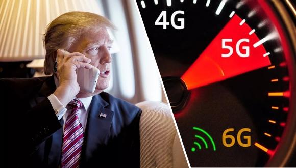 Donald Trump bu kez 6G açıklaması ile gündemde!